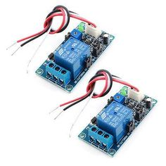 2Pcs DC 12V 1 Channel Power OFF Time Delay Relay PCB Circuit Module for Car #Affiliate