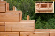 деревянные кирпичи BRIKAWOOD