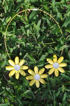 Necklace Stone Daisies Yellow $29.99