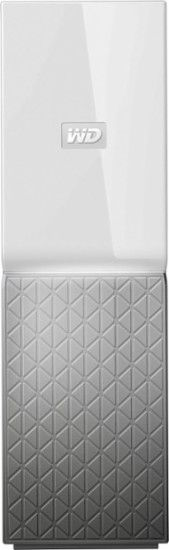 WD - My Cloud Home 4TB Personal Cloud - White - Front Zoom