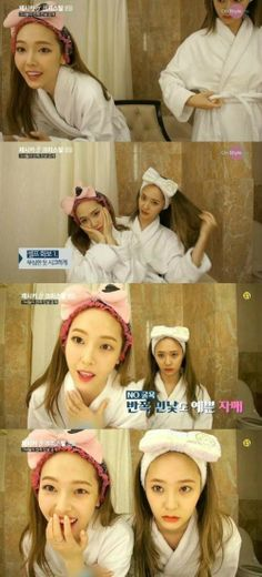 Jessica  Krystal give a slight peek at their bare faces on 'Jessica  Krystal' | allkpop.com