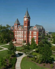 Somehow, this view never gets old. Auburn, Toomers Corner. Samford Hall. A little piece of heaven on Earth.