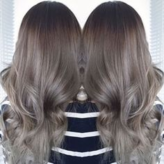 ash brown ombre - Google Search