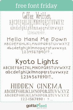 Free Font Friday There is nothing like finding the perfect font to finish off your digital scrapbooking layout!