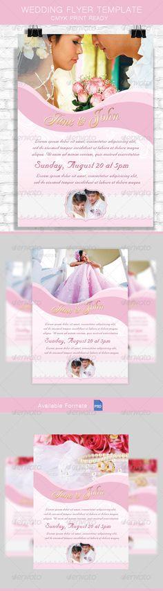 Wedding Anniversary Flyer Wedding anniversary, Anniversaries and - wedding flyer