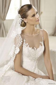Vestidos de noiva 2012/ 2013 da coleção Pronovias