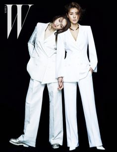 Lee Sung Kyung and Kim Sung Ryung - W Magazine May Issue '15