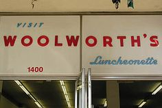 "Woolworth's was our ""walmart"".  The best candy section of any store then."