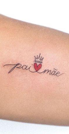 Mommy Tattoos, M Tattoos, Life Tattoos, Sleeve Tattoos, Crown Tattoo Design, Inspiration Tattoos, Tattoos For Women, Tatting, Piercings