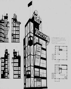 vesnin brothers architecture - Google Search