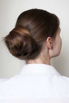 Easy relaxed bun / helppo nuttura