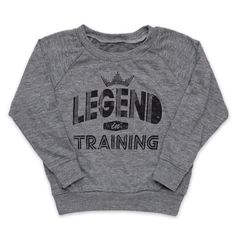 Legend in Training top -- AVAILABLE AUGUST 20TH