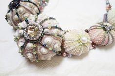 sea urchin necklace sea urchin jewelry by MashaBitterYewelry, €120.00