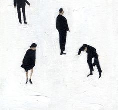 #skaters #illustration #winter