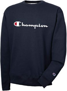 dc96eb66d Champion Men Powerblend Fleece Logo Sweatshirt Champion Clothing Mens,  Stylish Hoodies, Sweatshirts Online,