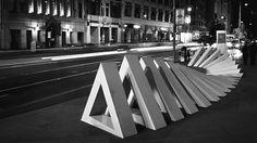 MÖBIUS - Federation SquareA collaborative stop motion sculpture  //via mxvltr (tumblr radar)