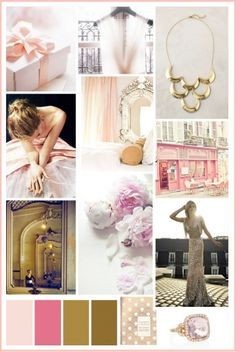 #Pink and #gold