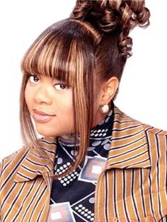 """Countess Vaughn (Kim) A lil """"moesha"""" nostalgia--takes me back to my middle/high school days :) 90s Hairstyles, Black Girls Hairstyles, Countess Vaughn, Hair Inspo, Hair Inspiration, Black Hair 90s, 90s Girl, Black Girl Aesthetic, Different Hairstyles"""