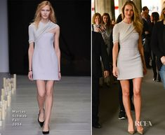 Rosie Huntington-Whiteley In Marios Schwab at the Vogue Festival