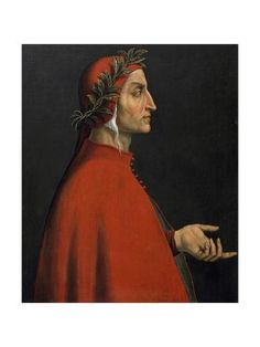 Size: 24x18in Portrait of Dante AlighieriChoose from our catalog of over 500,000 posters! Gothic Aesthetic, Book Aesthetic, Inferno Dan Brown, Dantes Inferno, Chant, I Icon, Portrait Art, Art Reproductions, Thriller