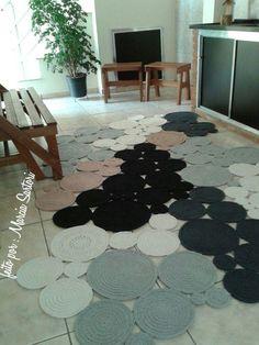 Especial Tapetes - 50 modelos lindos que você pode se inspirar e fazer o  seu! c20a175e20