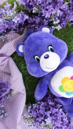 Shades of Purple Bear Wallpaper, Purple Wallpaper, Wallpaper Iphone Cute, Aesthetic Iphone Wallpaper, Cartoon Wallpaper, Cute Wallpapers, Aesthetic Wallpapers, Rainbow Aesthetic, Purple Aesthetic
