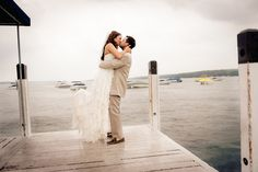 Modern Nautical Wedding in Wisconsin | Images by Soda Fountain Photography | Via Modernly Wed | 01