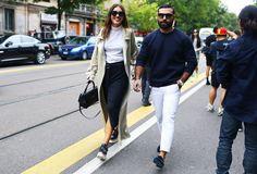 Street Style: Milan Fashion Week Spring 2015 - Vogue