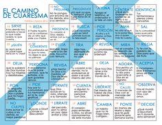 ESPECIAL DE CUARESMA: El camino de Cuaresma-Calendario 2016