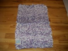"""Girls Bedroom Decor Purple Lavender White Paper Chindi Rug Teen Bedroom Area Rugs by confetti Collection. $44.99. size 27x45. beautiful shades of purple, lavender and white. soft and comfortable. This amazing and fun rug is done in a gorgeous purple, white and light purple colors. It's called a Chindi Rug, and has a look that resembles tissue paper flowers, but is made of soft material. It measures a large 27"""" by 45"""". A great accent for a princess bedroom or fair..."""