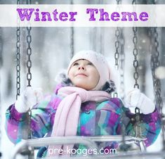 Winter theme activities for Preschool and Pre-K. Literacy, math, printables, book lists and more to make learning fun!