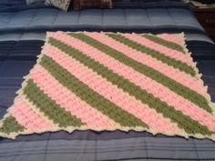 C2C lapghan I made for a friend's wheelchair bound mom.