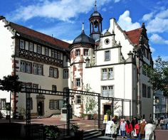 Rathaus Bad Hersfeld. I was born in this city!