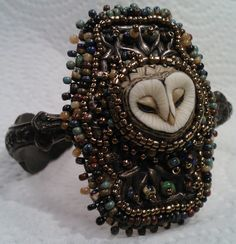 Sweet owl by Laura Mears Cuff