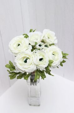 Bouquet can be used as the basis for the bridal bouquet , bouquet bridesmaid, in floral decorations, to create flower accessories. It can be used as a whole and divided into pieces.   The bouquet consists of :  3 large flowers with a diameter 2.75 inches , height 1.4 inches 3 small flowers diameter 2 inches, the height 1.4 inch 3 buds diameter 0.8 inch, height 1,4 inch  The total height of the bouquet - 10.3 inches   Normal standand delivery time out from Ukraine takes about:  U.S…