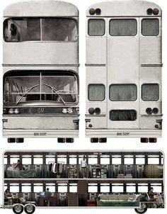 Bus Home or Mobile Converted Double-Decker Community? | Designs & Ideas on Dornob