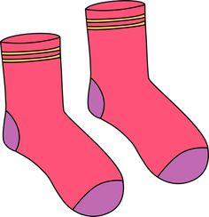 Pink Pair of Socks