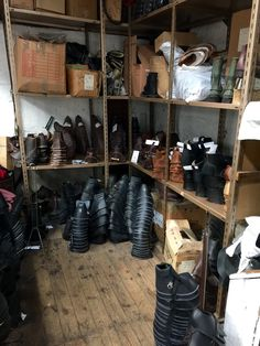 William Lennon boot-making factory. Where the magic happens