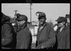 Untitled photo, possibly related to: Coal miners, Birmingham, Alabama. 1937 Feb. Library of Congress.