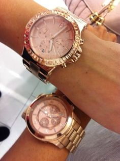 Rose gold watches---shut your mouth!!!! @Meleena Herring