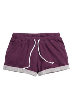 Sport Short Purple
