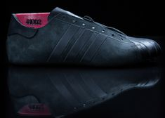 Alexander Taylor mills leather for limited-edition Adidas shoe
