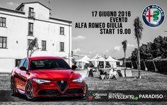 Realizzazione Progetto Grafico  EVENTO ALFA ROMEO GIULIA #igiardinidelnovecento  #alfaromeo #alfagiulia #grafica #lameziaterme #design