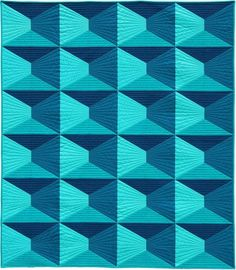 "Dimension, 52 x 60"", designer quilt pattern by Nydia Kehnle 