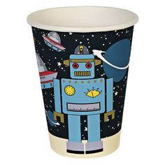 space cadet party cups by posh totty designs interiors | notonthehighstreet.com