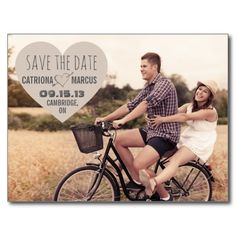 Rustic Heart Vintage Photo Save the Date Postcard => http://www.zazzle.com/rustic_heart_vintage_photo_save_the_date_postcard-239197949986896863?CMPN=addthis&lang=en&rf=238590879371532555&tc=pinWIrusticheartvintagephotoSTD