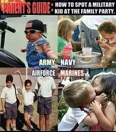 Military kids defined.