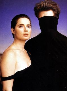 Isabella Rossellini and David Lynch