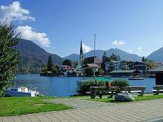 Rottach Eggern, Bavaria Aqua blue water, lovely.
