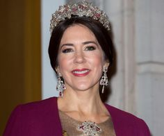 Crown Princess Mary of Denmark (born Mary Donaldson from Australia)